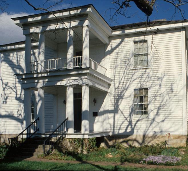 Alpheus Jones House, 1980