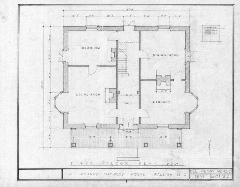 Richard B. Haywood House, circa 1854
