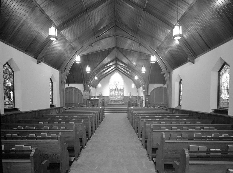 Chapel, St. Mary's School, 1976
