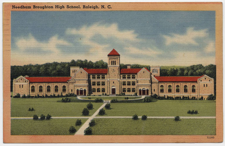 Needham B. Broughton High School, date unknown