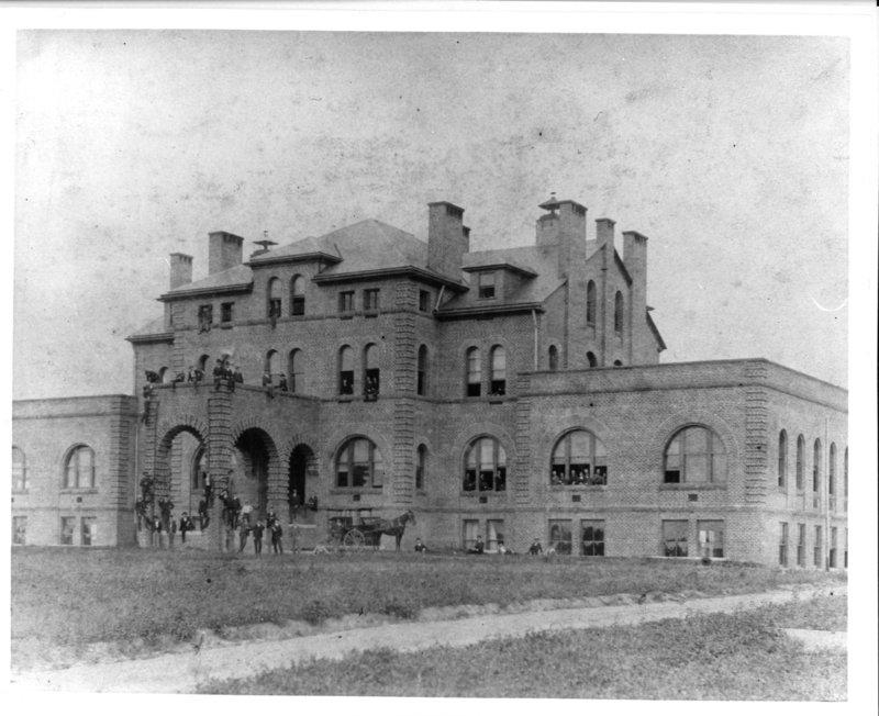 Holladay Hall, 1890