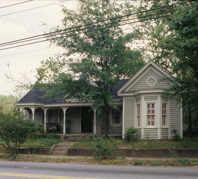 Plummer T. Hall House, 1980