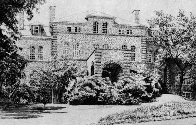 Holladay Hall, 1889