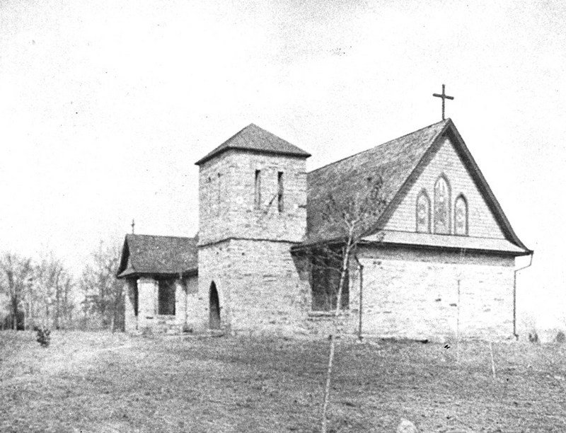 Chapel at St. Augustine College, 1898