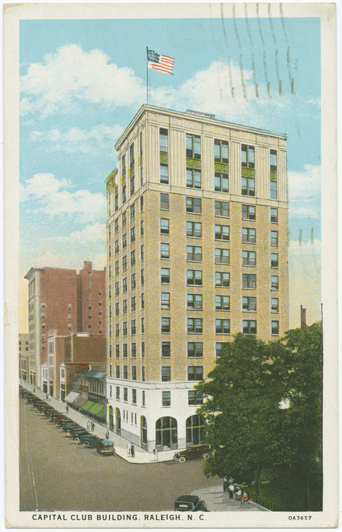 Capital Club Building, date unknown