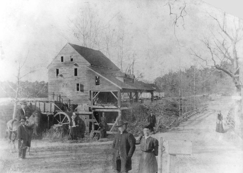 Yates Mill, circa 1890