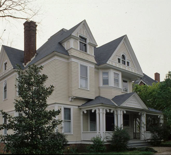 Marshall-Harris-Richardson House, 1980s