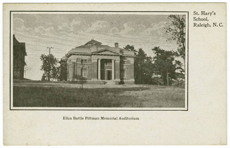 Eliza Battle Pittman Auditorium, date unknown