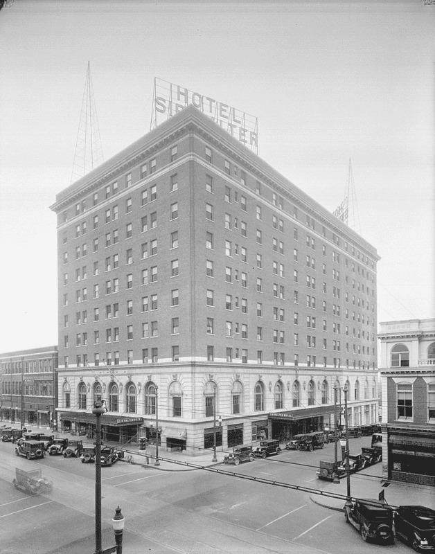 Sir Walter Hotel, 1928