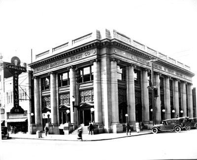 Raleigh Banking and Trust Company Building, date unknown