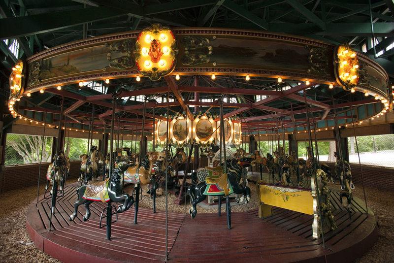 Chavis Park Carousel, 2009