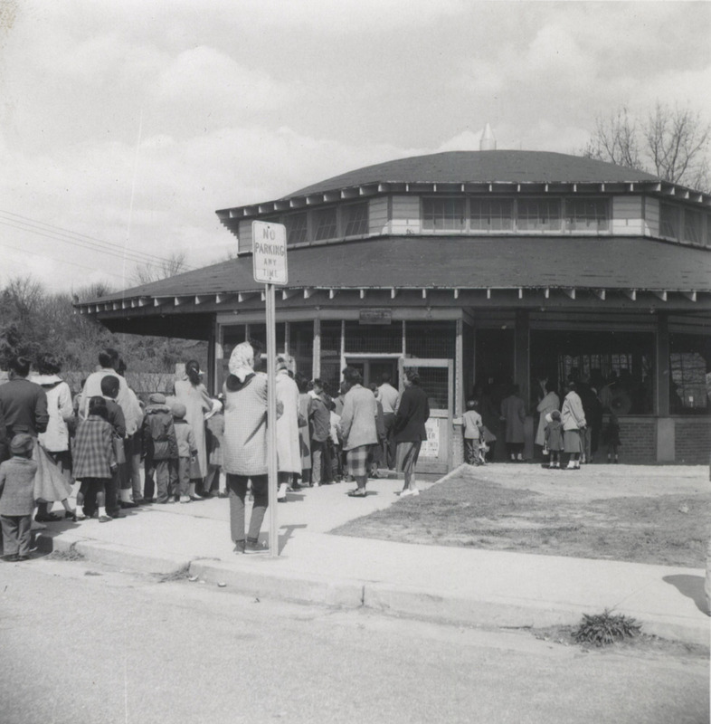 Chavis Park Carousel, April 1959