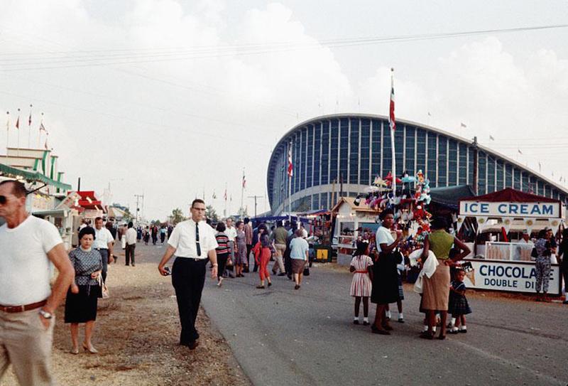 J.S. Dorton Arena, 1962 NC State Fair