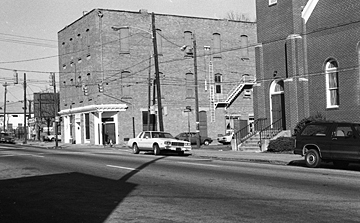 Prince Hall and Tupper Memorial Baptist Church, 1984