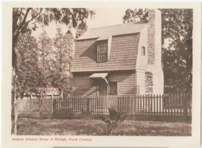 Andrew Johnson House, 1910s-1920s