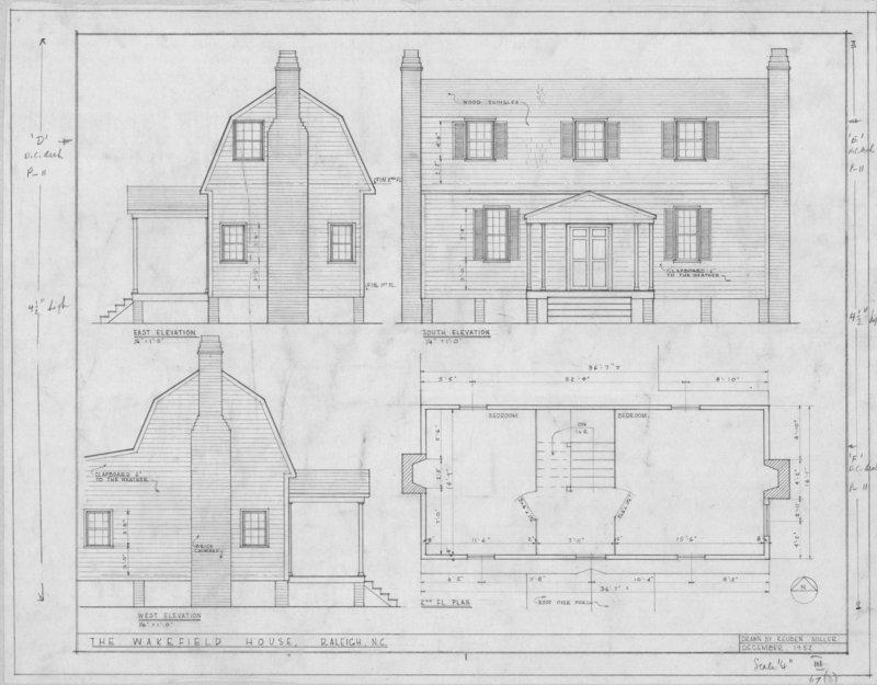 Joel Lane House, circa 1770