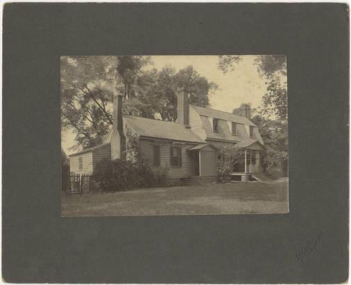 Joel Lane House, 1850-2000