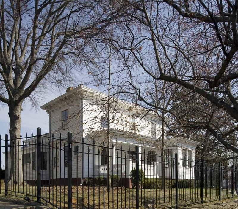 Rogers-Bagley-Daniels-Pegues House, 2009