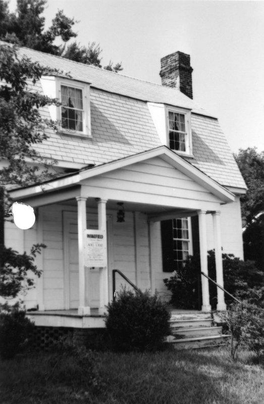 Joel Lane House, circa 1952