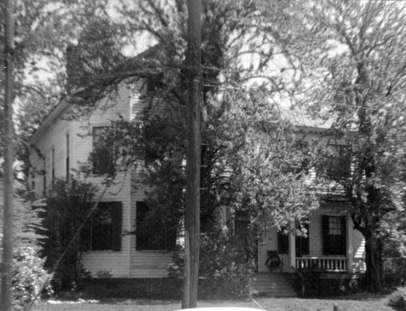 White-Holman House, circa 1965